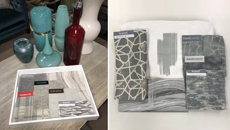 Kravet grey - Vancouver blinds and wall covering store